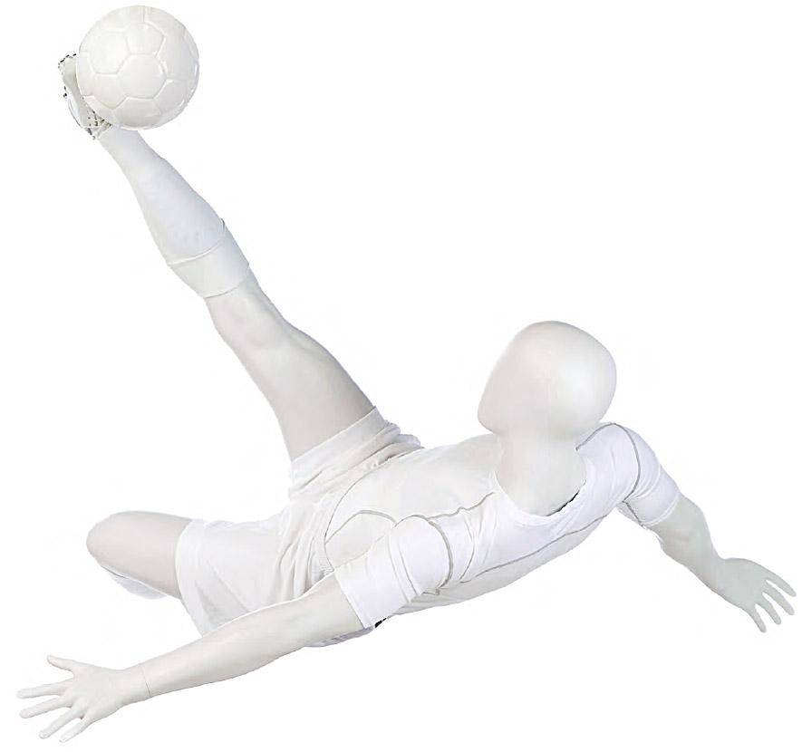 Maniqui hombre futbol