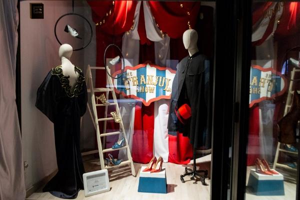 ESNE en Calzados Franjul - Concurso Escaparates Madrid es Moda