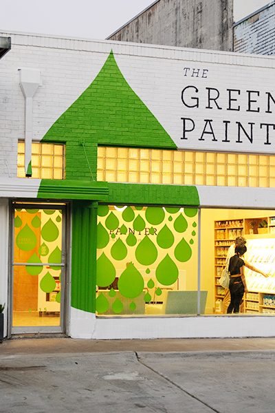 The Green Painter fachada