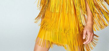 Tendencias: Ríndete a los flecos y las plumas