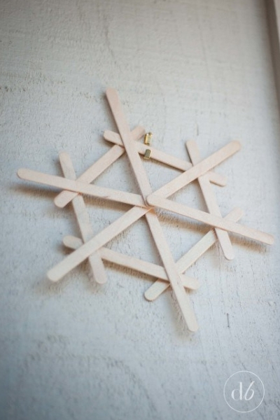 Copo nieve madera
