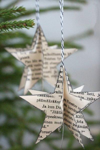 Estrella Navidad Papel