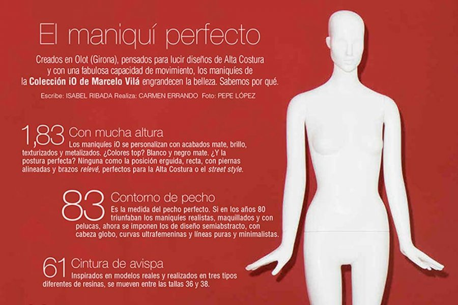 Telva: El Maniquí Perfecto - Colección IO