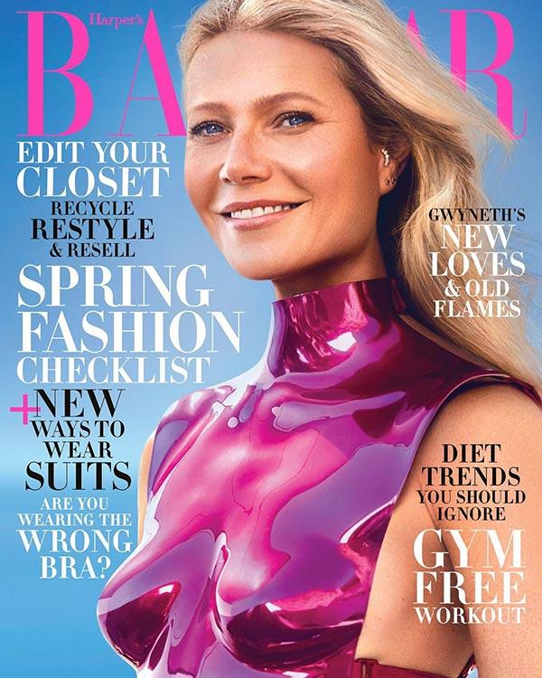 Gwyneth Paltrow Harper's Bazaar