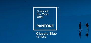 Pantone Classic Blue 2020