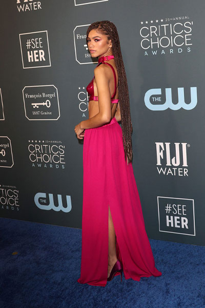 Zendaya armadura Critic's Choice Awards 2020